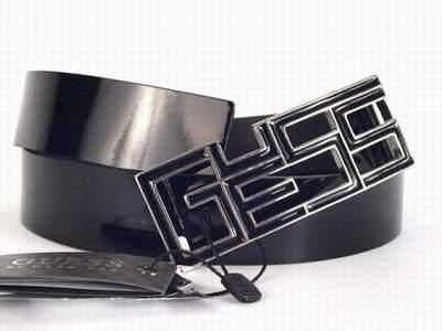ed481053cbd ceinture guess blanche avec strass